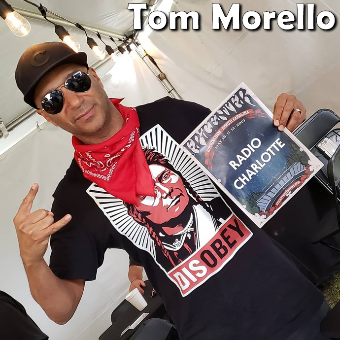 Tom Morello from Rage Against The Machine